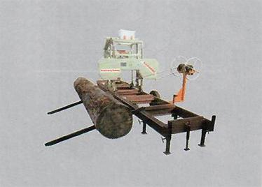 MJ317型卧式带锯机