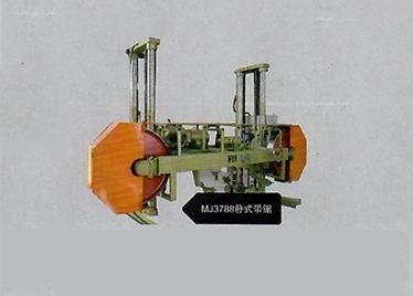 MJ3788型卧式带锯机